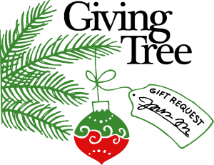 giving tree colored transp bkg