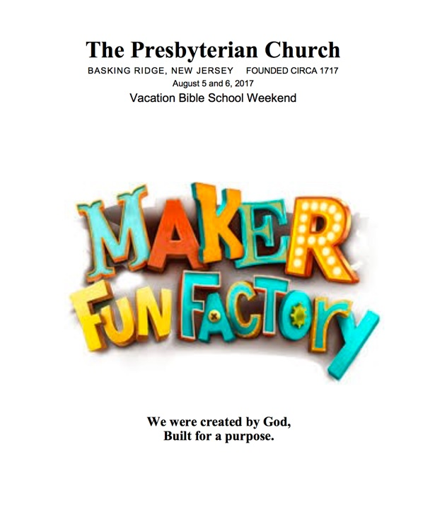 Maker Fun Factory: Created by God, Built for a Purpose