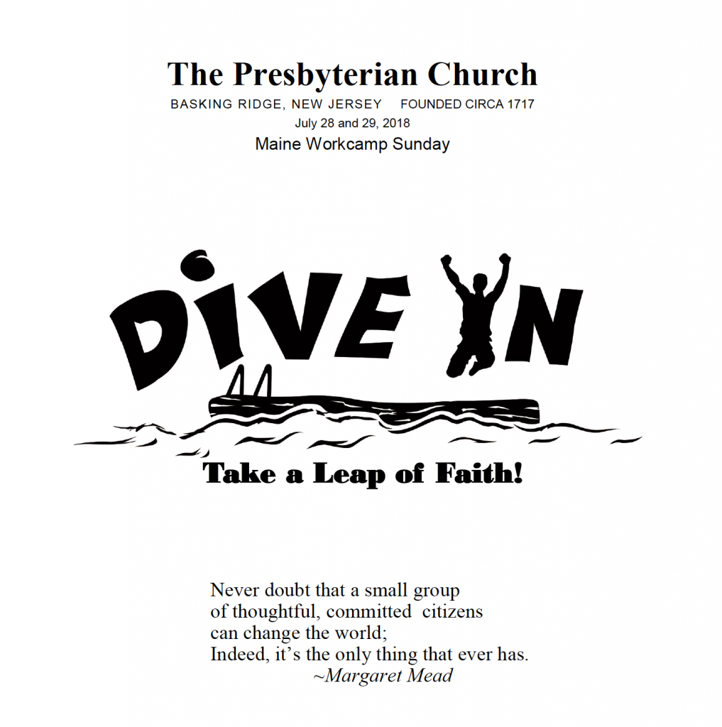 Dive In — Take a Leap of Faith