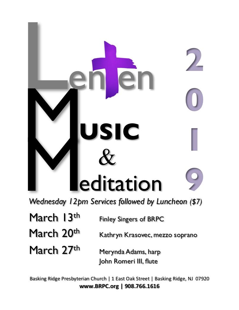 LMM Lenten Music Meditation