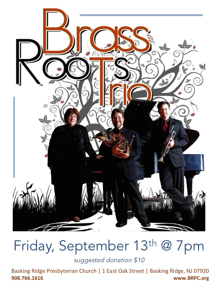 brass roots trio concert